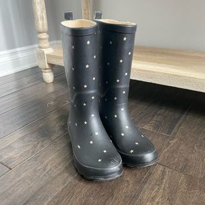 Cat and Jack Girls Rain Boots size 3